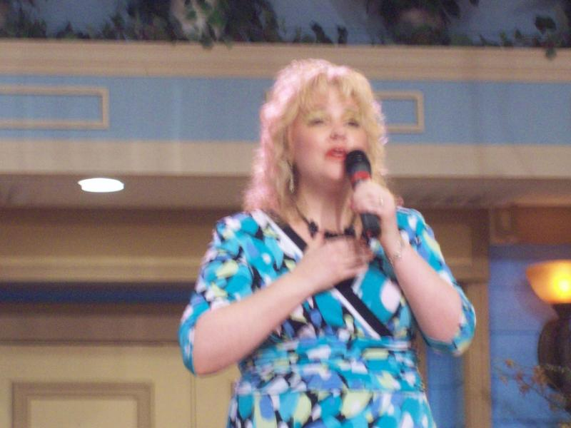 Nana Tana singing the Gospel LIVE @ another Morningside Television Taping...
