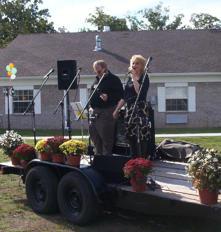 Nana Tana & Hubby Brad Singing & Ministering @ Rehab Center GRAND Opening!